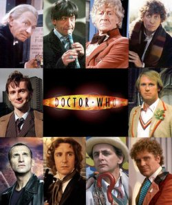 All the Doctors (minus the most recent)