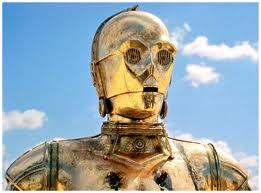 C3-PO on Tatooine