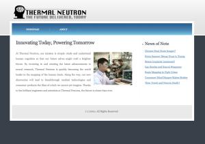 Thermal Neutron Site